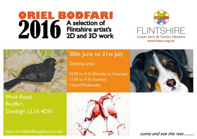 Oriel Bodfari Exhibition 2016 Landscape