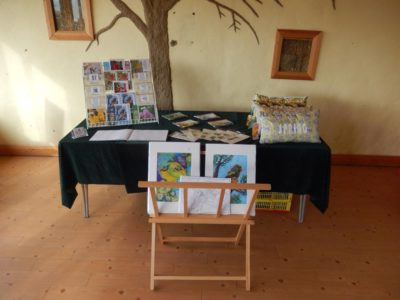 Exhibition table