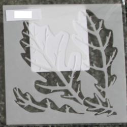 Four oak leaves