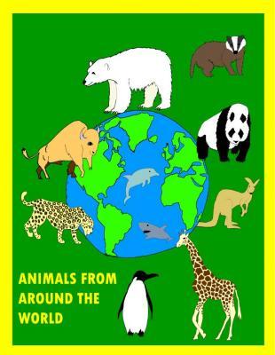 Animals around the world colour visual 1