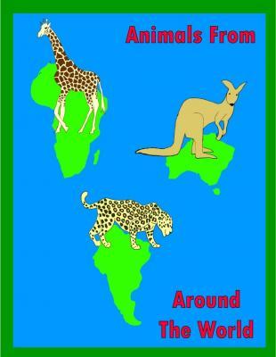 Animals around the world colour visual 2