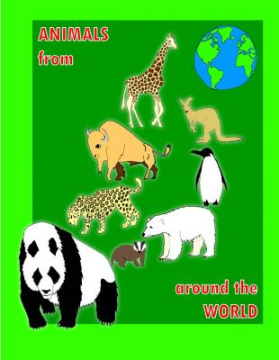 Animals around the world colour visual 3