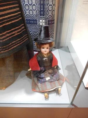 Doll in Welsh costume