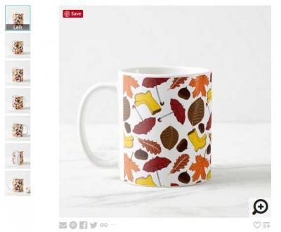 Zazzle mug preview