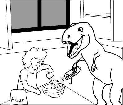 T-rex adds the spice