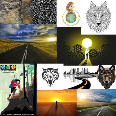 Wolf journey moodboard