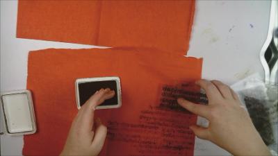 Stamping tissue