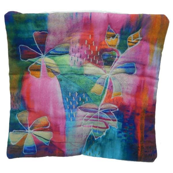 Cushion showing Mellow mallows art