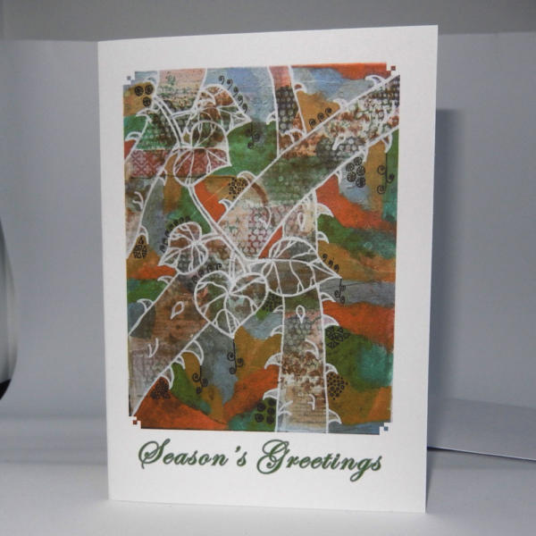 Card with Winter art on front
