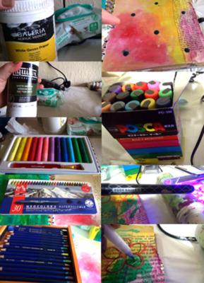 Ten useful art journaling supplies