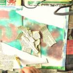 Collage pieces